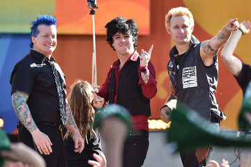 Mike Dirnt Green Day Performs on ABC's 'Good Morning America'
