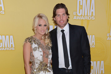 Mike Fisher Carrie Underwood 46th Annual CMA Awards - Arrivals