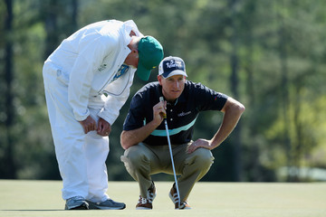"""Mike """"Fluff"""" Cowan The Masters: Round 1"""