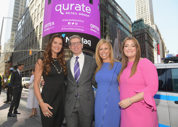 Qurate Retail Group Opening Bell Ceremony At Nasdaq MarketSite