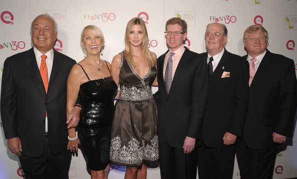 """QVC Presents """"FFANY Shoes on Sale"""" Benefit for Breast Cancer Research and Education - Arrivals [event,premiere,award,dress,little black dress,formal wear,team,ffany shoes on sale,benefit,qvc presents,education,breast cancer research,qvc inc.,ceo,ronald fromm,arrivals,president]"""