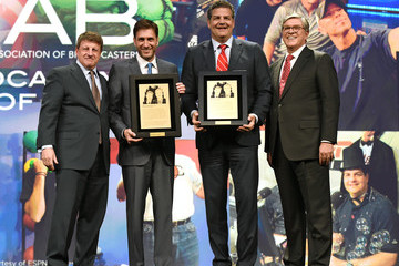 Mike Golic NAB Show Radio Luncheon Honors ESPN's Mike Golic and Mike Greenberg