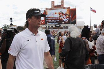 Mike Gundy Oklahoma State v Texas