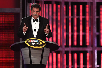 Mike Helton NASCAR Sprint Cup Series Awards - Show
