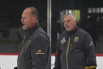Mike Kelly Gerard Gallant Vegas Golden Knights Hold First Practice Since Winning Western Conference Finals