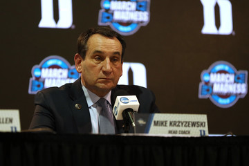 Mike Krzyzewski NCAA Basketball Tournament - Midwest Regional - Omaha