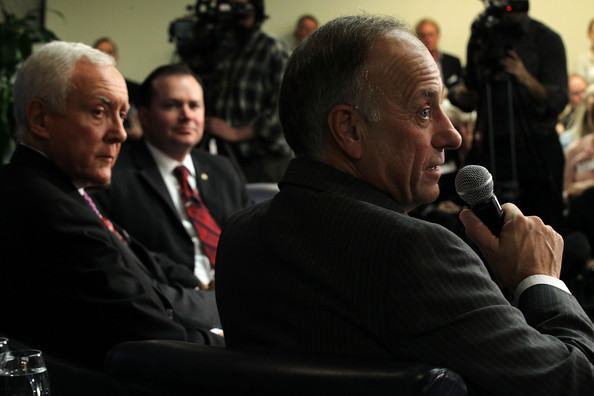 Members Of Congress Attend Tea Party Town Hall In Washington