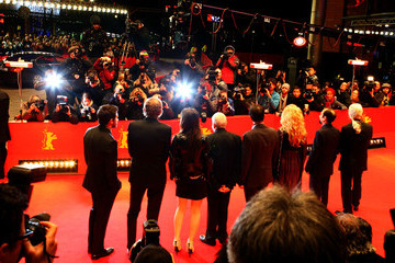 Mike Leigh Closing Ceremony Red Carpet Arrivals - 62nd Berlinale International Film Festival