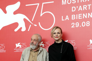 Mike Leigh 'Peterloo' Photocall - 75th Venice Film Festival