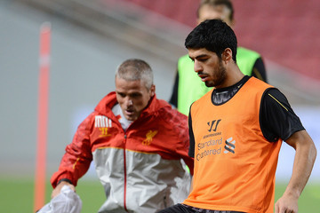 Mike Marsh Liverpool Training Session