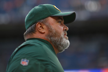 Mike McCarthy Green Bay Packers v Denver Broncos