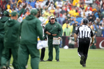 Mike McCarthy Green Bay Packers vs. Washington Redskins