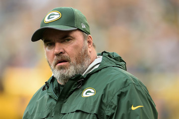 Mike McCarthy Philadelphia Eagles v Green Bay Packers