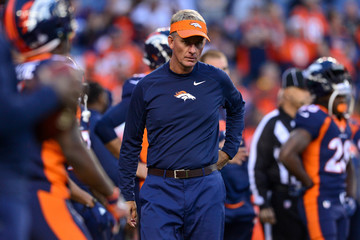 Mike McCoy New York Giants v Denver Broncos
