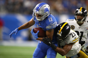 Mike Mitchell Pittsburgh Steelers vDetroit Lions