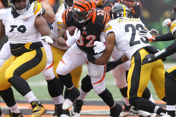 Mike Mitchell Pittsburgh Steelers v Cincinnati Bengals