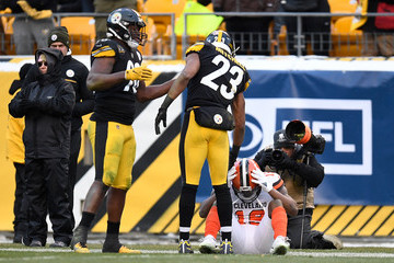 Mike Mitchell Cleveland Browns vPittsburgh Steelers