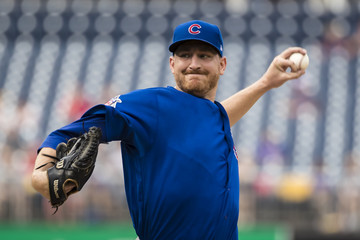 Mike Montgomery Chicago Cubs vs. Washington Nationals