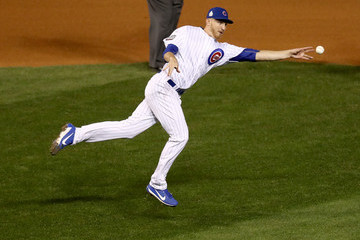 Mike Montgomery World Series - Cleveland Indians v Chicago Cubs - Game Four