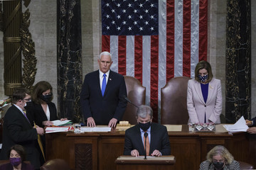 Mike Pence European Best Pictures Of The Day - January 08