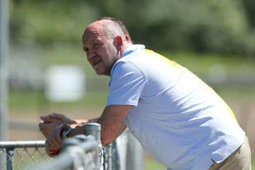 Mike Phelan Central Coast Mariners Training Session