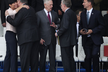 Mike Pompeo World Leaders Meet For NATO Summit In Brussels