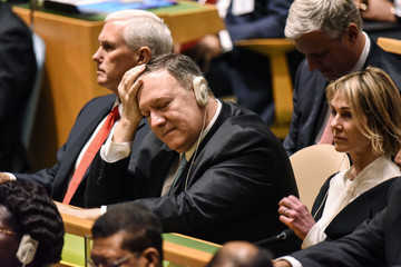 Mike Pompeo World Leaders Address United Nations General Assembly