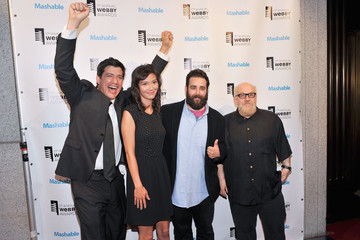 Mike Rosenstein Arrivals at the 17th Annual Webby Awards