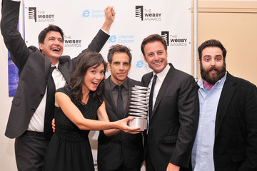 Mike Rosenstein Backstage at the 17th Annual Webby Awards