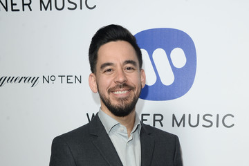 Mike Shinoda Warner Music Group's Celebration For The 58th Annual Grammy Awards - Arrivals