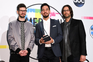 Mike Shinoda 2017 American Music Awards - Press Room