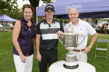 Mike Silverman Jumeirah Brand Ambassador Rory McIlroy Hosts Junior Golf Clinic For City Parks Foundation