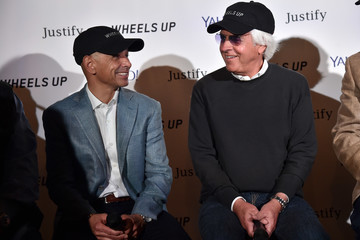 Mike Smith Press Conference With Team Justify Presented By Exclusive Sponsor Wheels Up And Their Partner, Oath