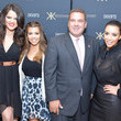 Mike Spano Kourtney, Kim And Khloe Celebrate The 1 Year Anniversary Of The Kardashian Kollection At SEARS Yonkers, NY
