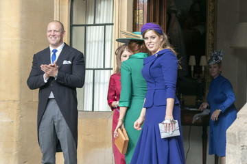 Mike Tindall Princess Eugenie Of York Marries Mr. Jack Brooksbank