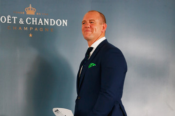 Mike Tindall Socials At Magic Millions Raceday
