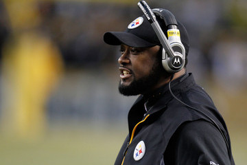 Mike Tomlin Divisional Playoffs - Baltimore Ravens v Pittsburgh Steelers