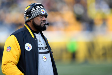 Mike Tomlin Cleveland Browns vPittsburgh Steelers