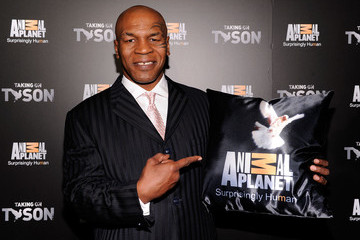 "Mike Tyson Animal Planet's ""Taking On Tyson"" Premiere Party"