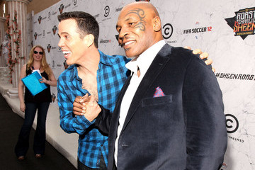 Mike Tyson Comedy Central Roast Of Charlie Sheen - Red Carpet