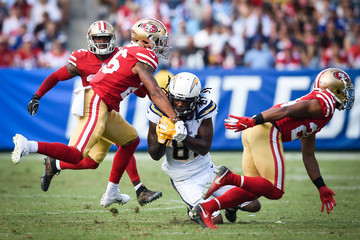 Mike Williams San Francisco 49ers v Los Angeles Chargers