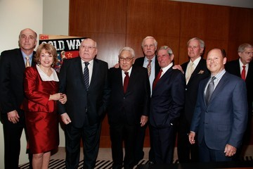Ron Sanders Mikhail Gorbachev Attends Screening/Panel of Cold War: The Complete Series
