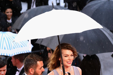 Mila Jovovich 'Burning (Beoning)' Red Carpet Arrivals - The 71st Annual Cannes Film Festival
