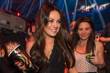 Mila Kunis Inside the MTV Movie Awards
