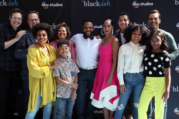 Miles Brown Marcus Scribner FYC Event For ABC's 'Blackish' - Arrivals