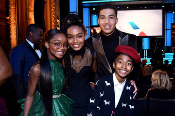 Miles Brown Marcus Scribner 49th NAACP Image Awards - Roaming Show