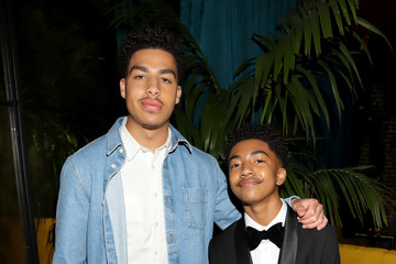 Miles Brown Marcus Scribner CAA NAACP Image Awards After Party