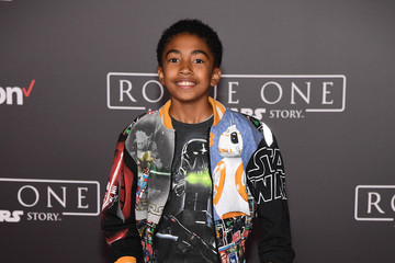 Miles Brown Premiere of Walt Disney Pictures and Lucasfilm's 'Rogue One: A Star Wars Story' - Arrivals