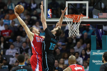 Miles Plumlee Los Angeles Clippers v Charlotte Hornets