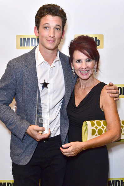Photo of Miles Teller & his  Mother  Merry Flowers